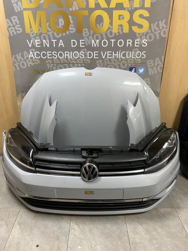 golf vii-año 2018-color blanco-frente completo-kit airbag-aletas-faros-bakkar motors-valencia (5)