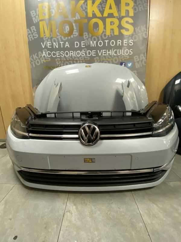 golf vii-año 2018-color blanco-frente completo-kit airbag-aletas-faros-bakkar motors-valencia (6)